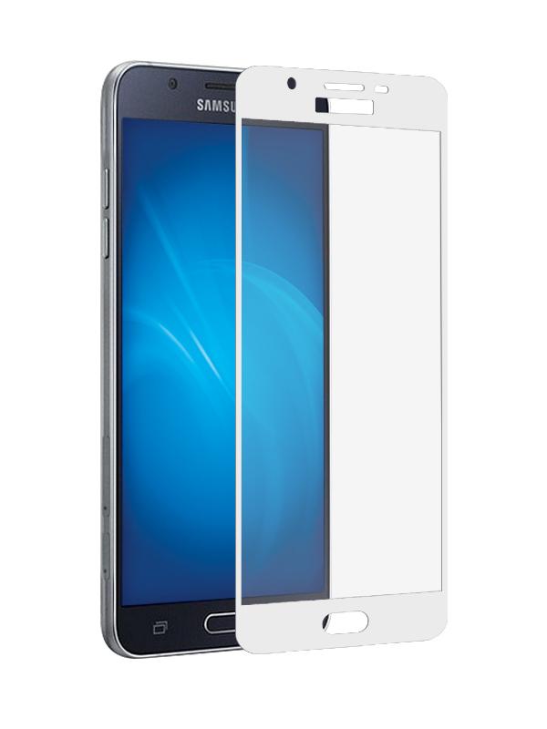 Аксессуар Защитное стекло Krutoff Full Screen для Samsung Galaxy J3 2017 SM-J330 White 02549