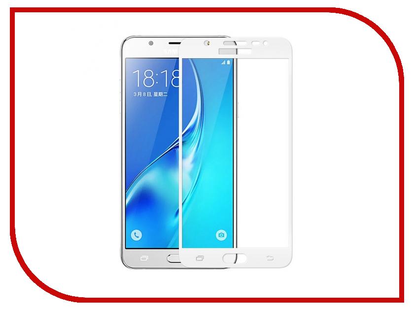 Аксессуар Защитное стекло для Samsung Galaxy J5 Prime SM-G570F Krutoff Full Screen White 02557 аксессуар защитное стекло samsung sm g361h ds galaxy core prime ve borasco 0 26mm