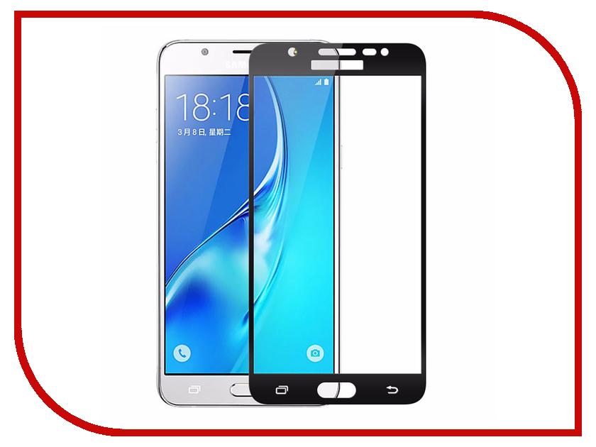 Аксессуар Защитное стекло для Samsung Galaxy J5 Prime SM-G570F Krutoff Full Screen Black 02558 защитное стекло caseguru для samsung j5 prime full screen black