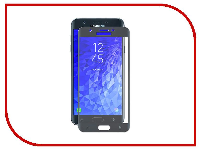 Аксессуар Защитное стекло Krutoff Full Screen для Samsung Galaxy J7 Prime 2018 Black 02640