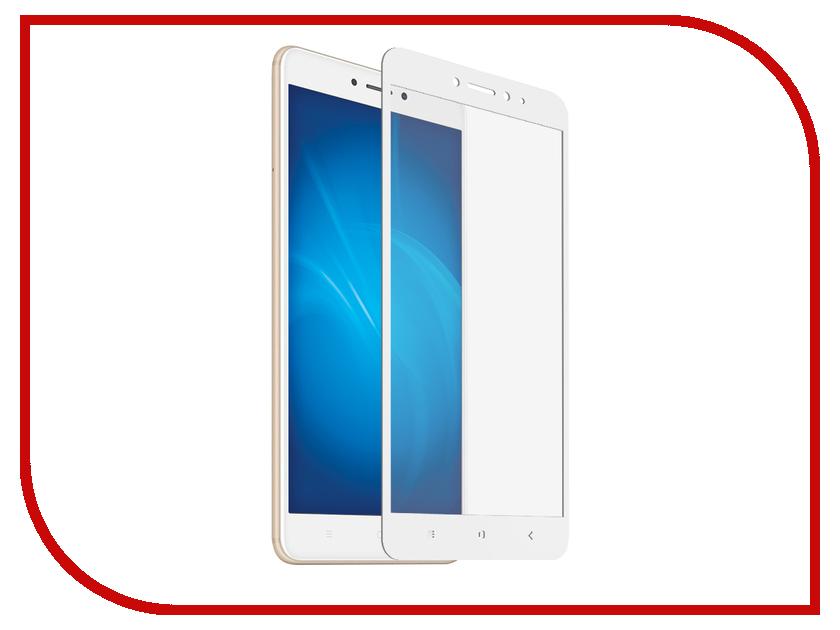 Аксессуар Защитное стекло для Xiaomi Mi Max 2 Krutoff Full Screen White 02757 аксессуар защитное стекло для xiaomi mi note 2 brosco full screen white xm min2 3d glass white