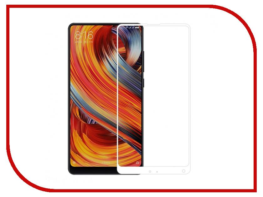 Аксессуар Защитное стекло для Xiaomi Mi Mix 2 Krutoff Full Screen White 02760 mi 2 in1 usb cable 30 cm white