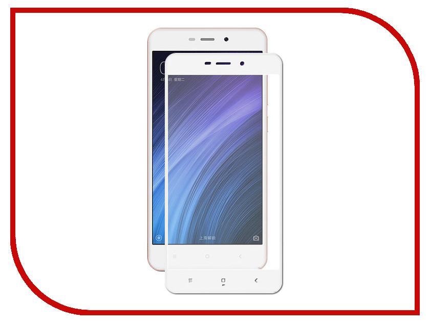 Аксессуар Защитное стекло для Xiaomi Redmi 4A Krutoff Full Screen White 02562 new 9 inch hw800480f 4a 0a 30 40 tablet lcd screen panel 50 pin for allwinner a13 q9 q90