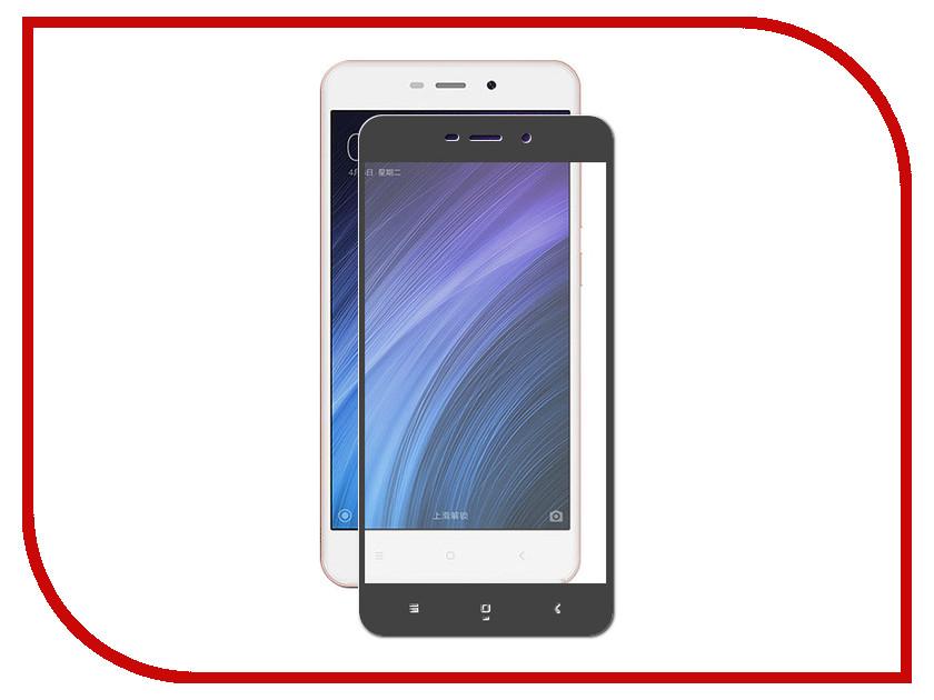 Аксессуар Защитное стекло для Xiaomi Redmi 4A Krutoff Full Screen Black 02582 аксессуар защитное стекло для xiaomi redmi s2 neypo full screen glass npg4394