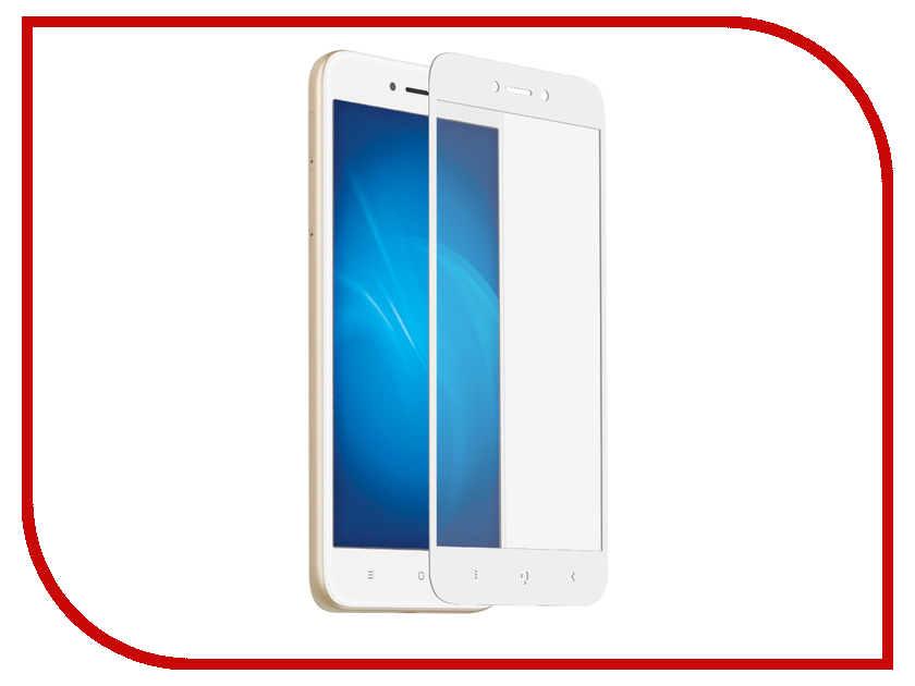 Аксессуар Защитное стекло для Xiaomi Redmi 5A Krutoff Full Screen White 02581 the final frontier cd