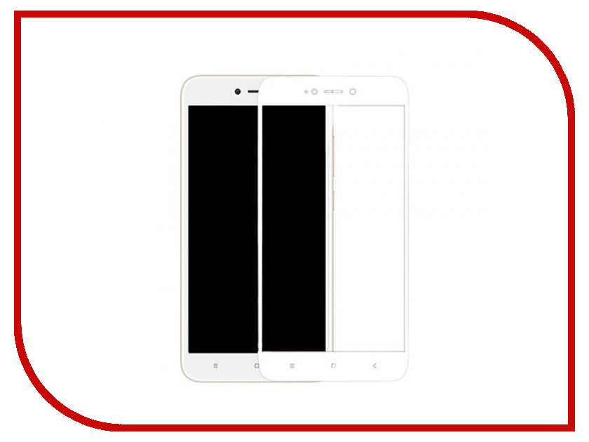 Аксессуар Защитное стекло для Xiaomi Redmi Note 5 Pro Krutoff Full Screen Black 02569 аксессуар стекло защитное для xiaomi redmi note 4x krutoff full screen white 02528