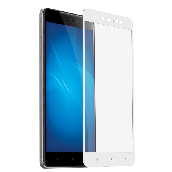 Аксессуар Защитное стекло Krutoff для Xiaomi Redmi Note 5A / 5A Prime Full Screen Black 02570 цена и фото