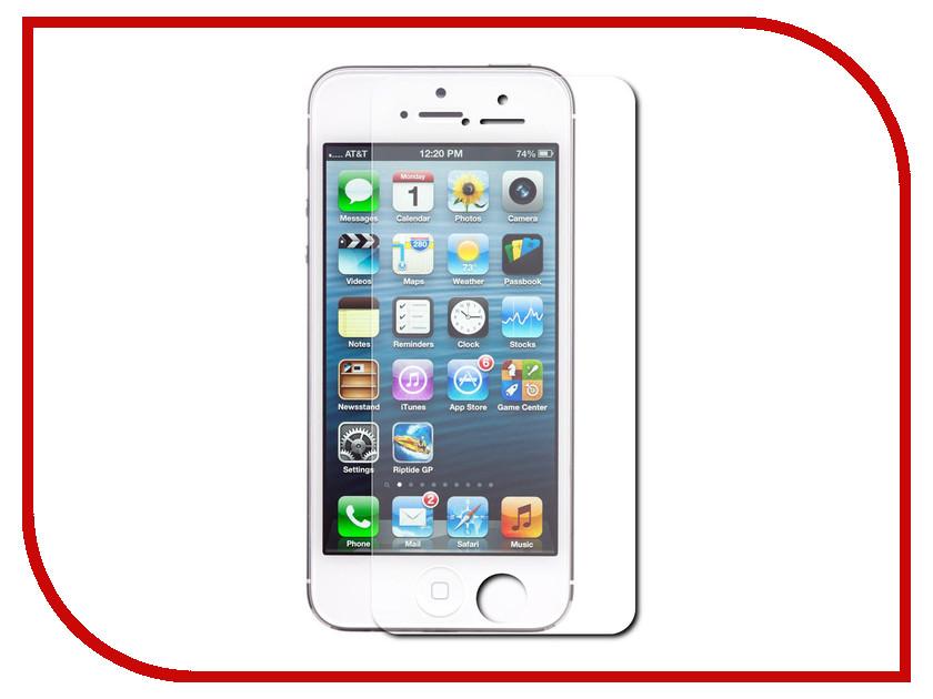 Аксессуар Защитное стекло для APPLE iPhone 5 / 5S Krutoff Group 0.26mm 22121 стоимость