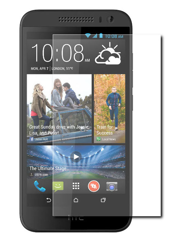 Аксессуар Защитное стекло Krutoff для HTC Desire 826 Group 0.26mm 21987