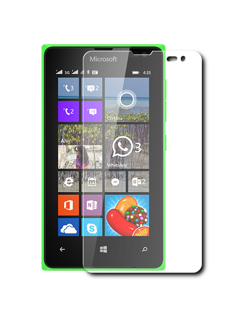 Аксессуар Защитное стекло Krutoff для Nokia Lumia 532 0.26mm 21961