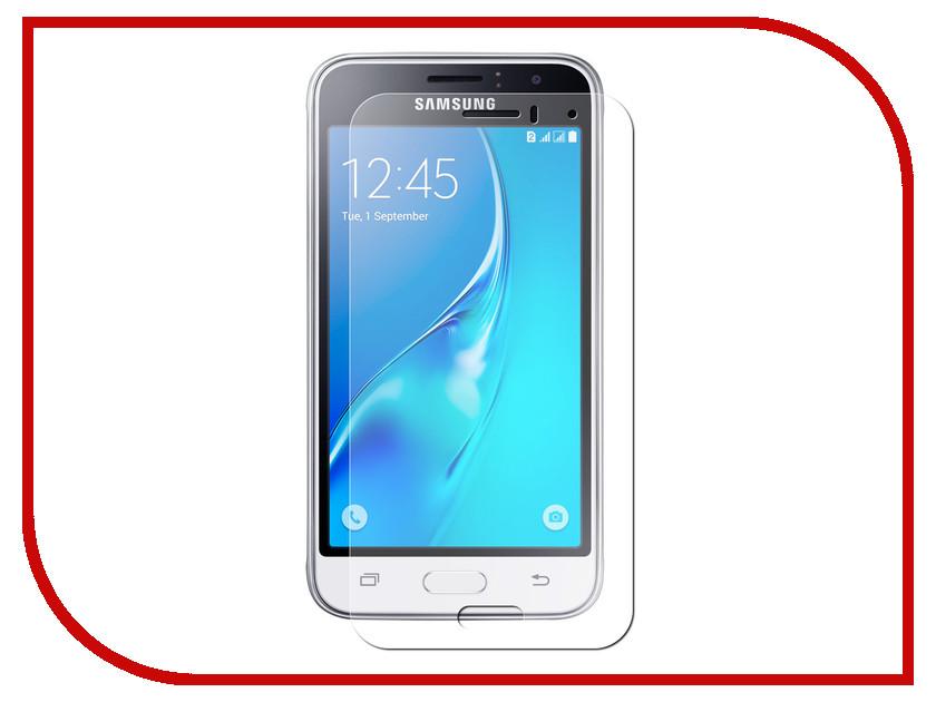 Аксессуар Защитное стекло для Samsung Galaxy J1 2016 SM-J120F Krutoff Group 0.26mm 21792 аксессуар чехол для samsung galaxy j1 2016 sm j120f ds zibelino classico black zcl sam j1 2016 blk