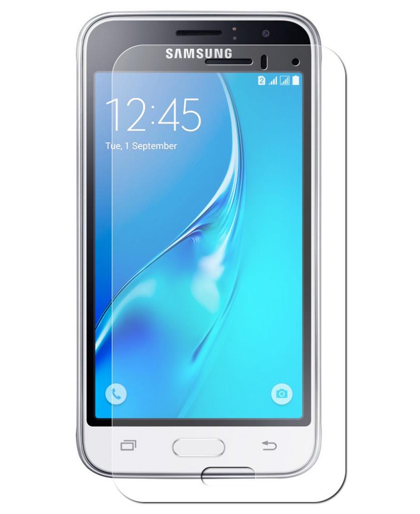 Аксессуар Защитное стекло Krutoff Group для Samsung Galaxy J1 2016 SM-J120F 0.26mm 21792 dirol жевательная резинка арбузно дынный коктейль 5 шт по 13 6 г