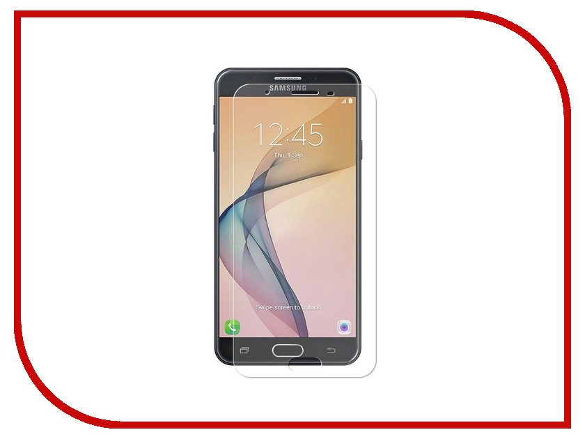 Аксессуар Защитное стекло для Samsung Galaxy J7 Prime SM-G610F Krutoff Group 0.26mm 22130 чехол защитный skinbox samsung galaxy j7 prime galaxy on7 sm g600f
