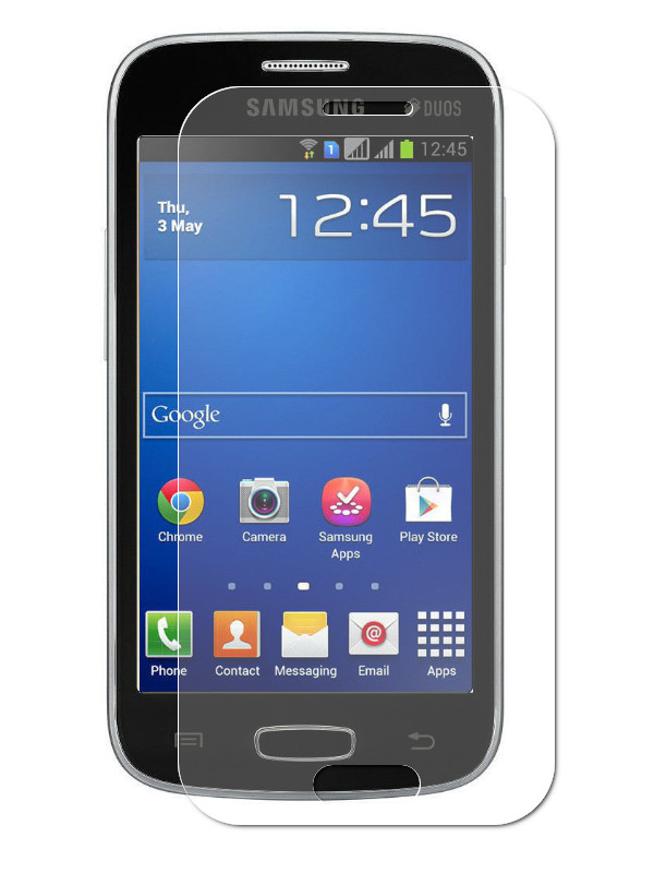 Защитное стекло Krutoff для Samsung Galaxy Star Plus Duos GT-S7262 0.26mm 20327