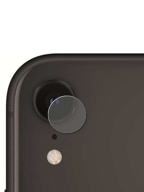 Аксессуар Защитное стекло на заднюю камеру Krutoff для APPLE iPhone 7 / 8 Back 02807