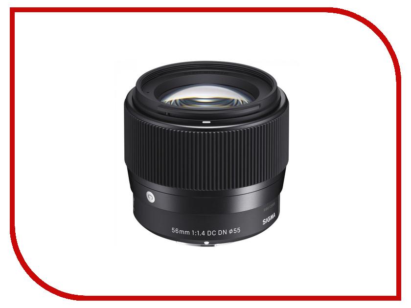 Фото - Объектив Sigma 56mm f/1.4 DC DN Contemporary Sony E объектив sigma sony e af 30 mm f 2 8 dn art for nex black