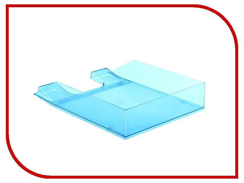 Лоток горизонтальный Attache Selection Flamingo Transparent-Blue 877399 outdoor retractable plastic cups blue transparent 100ml
