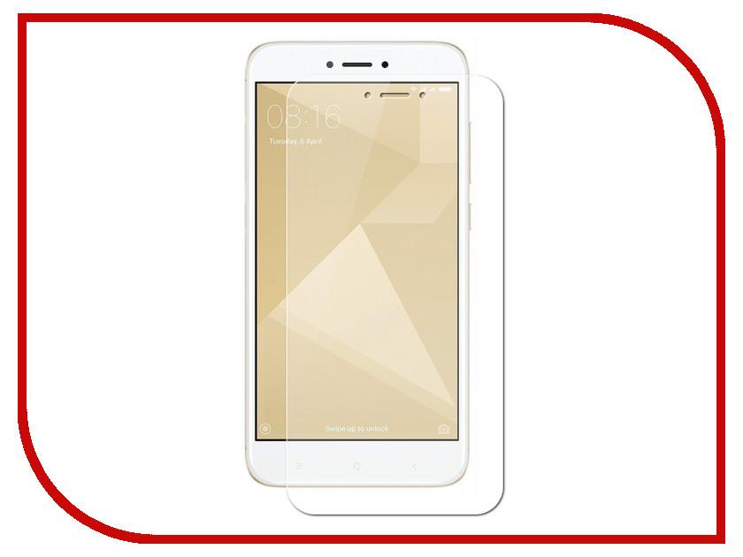 Аксессуар Защитное стекло для Xiaomi Redmi 4X Krutoff 0.26mm 20402 аксессуар чехол накладка для xiaomi redmi 4x krutoff tpu transparent 11971