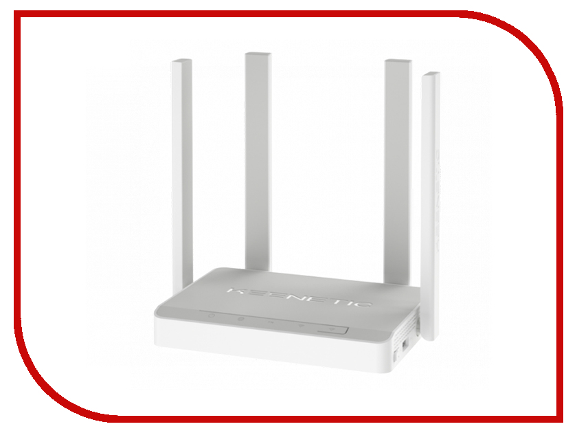 Wi-Fi роутер Keenetic Viva (KN-1910) White wi fi роутер keenetic ultra kn 1810