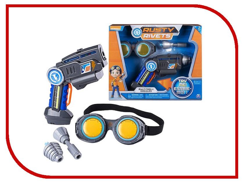 Игровой набор Spin Master Rusty Rivets Супер инструмент и очки Расти 28109 очки true spin neon yellow