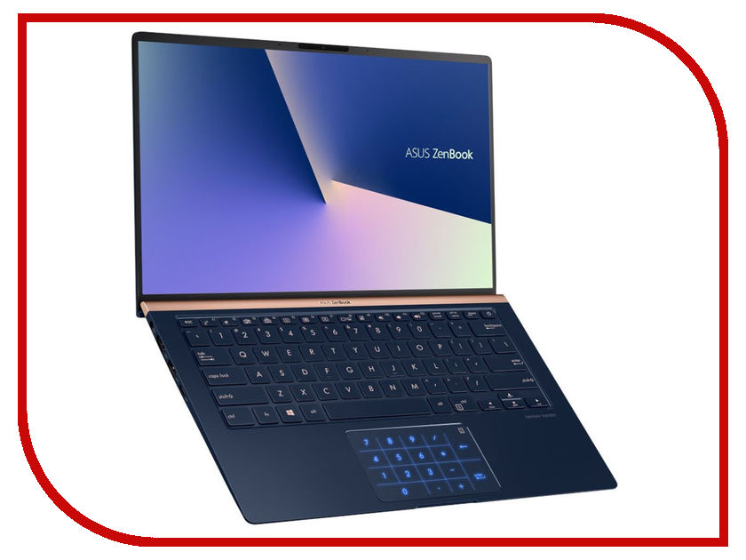 Ноутбук ASUS UX433FN-A6020T 90NB0JQ2-M03870 Royal Blue (Intel Core i7-8565U 1.8 GHz/16384Mb/512Gb SSD/No ODD/nVidia GeForce MX150 2048Mb/Wi-Fi/Bluetooth/Cam/14.0/1920x1080/Windows 10 64-bit) ноутбук asus n552vw fy251t 90nb0an1 m03130 intel core i7 6700hq 2 6 ghz 16384mb 2000gb dvd rw nvidia geforce gtx 960m 2048mb wi fi cam 15 6 1920x1080 windows 10 64 bit