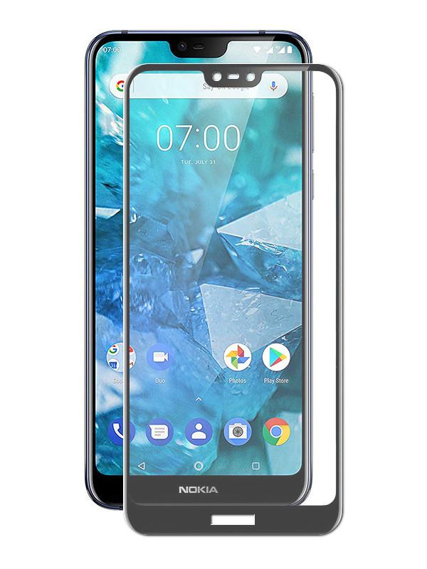 купить Аксессуар Защитное стекло Zibelino для Nokia 7.1 2018 TG Full Screen Black ZTG-FS-NK-7.1-BLK по цене 410 рублей