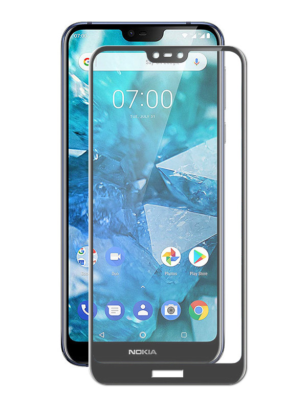 Аксессуар Защитное стекло Zibelino для Nokia 7.1 2018 TG Full Screen Black ZTG-FS-NK-7.1-BLK аксессуар защитное стекло для nokia 7 plus zibelino tg full screen 0 33mm 2 5d black ztg fs nk 7pl blk
