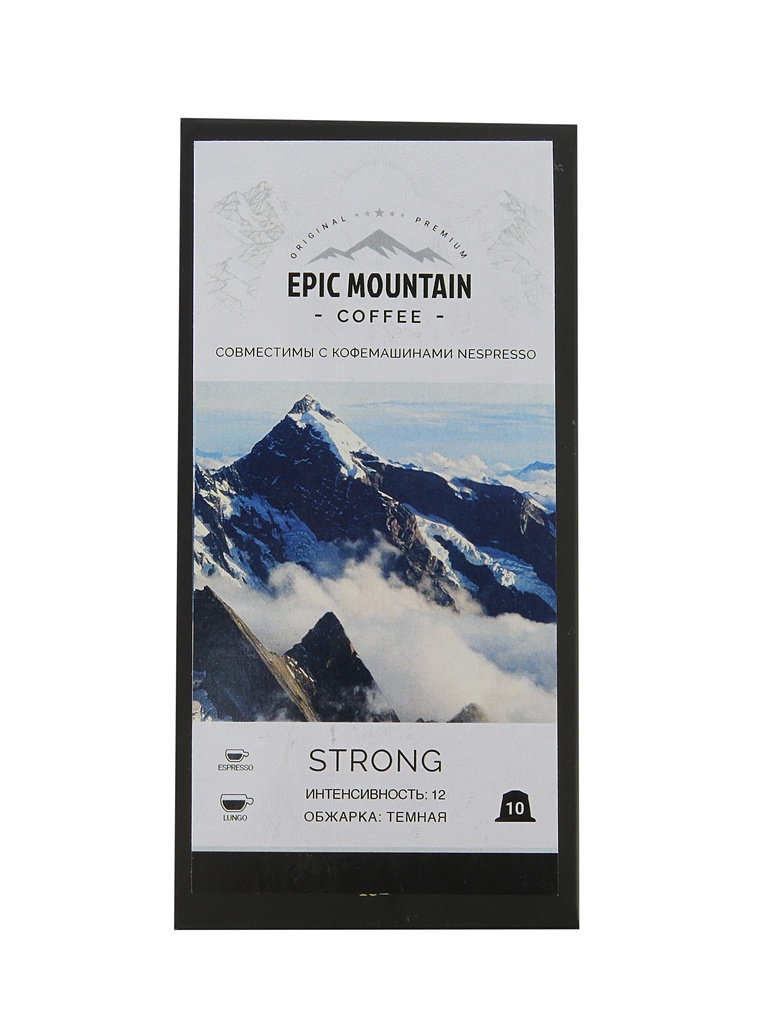 Капсулы Epic Mountain Strong