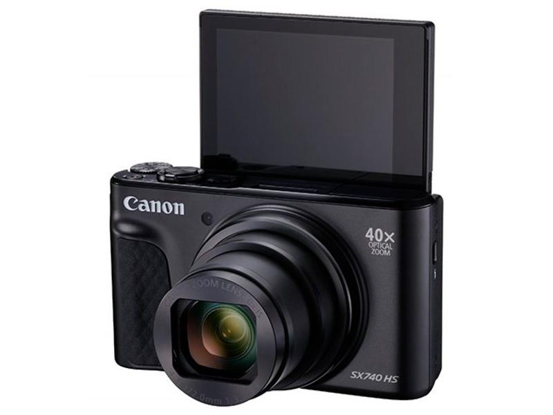 Фото - Фотоаппарат Canon PowerShot SX740 HS Black фотоаппарат canon powershot sx740 hs black