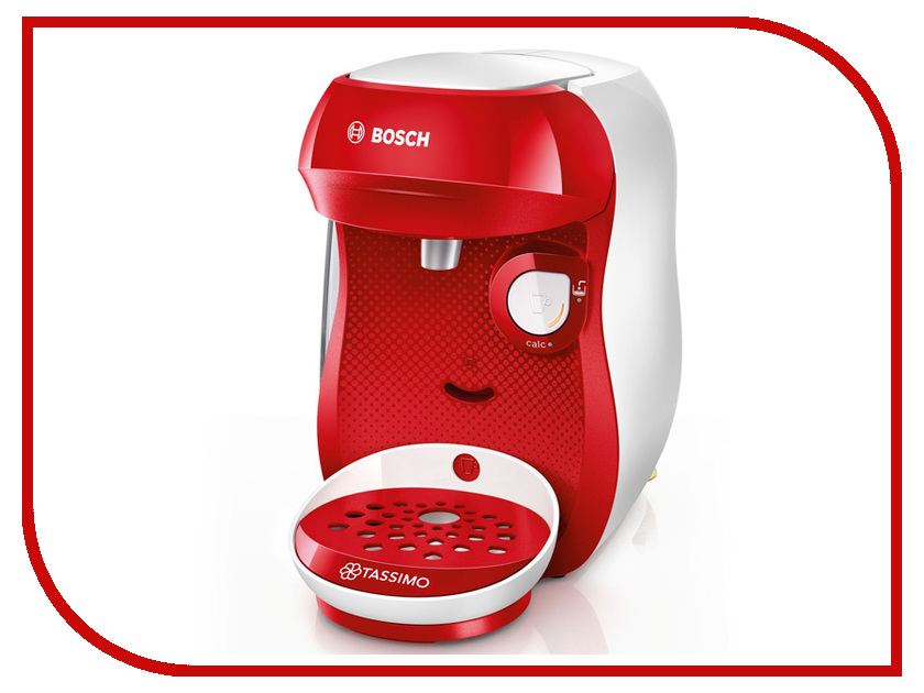 Кофемашина Bosch Tassimo Happy White-Red Tas1006 bosch hbg634bw1 white