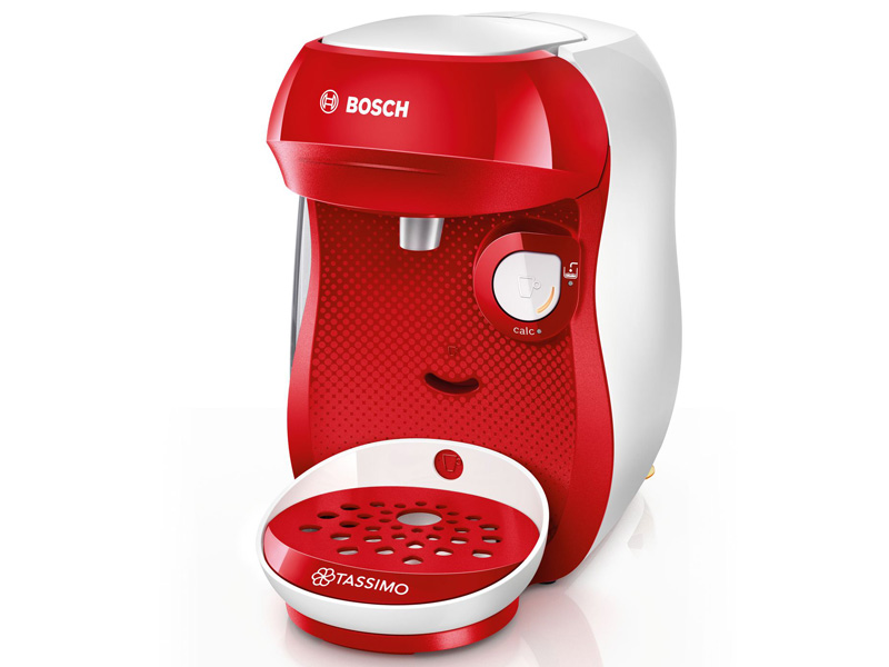 Кофемашина Bosch Tassimo Happy White-Red Tas1006