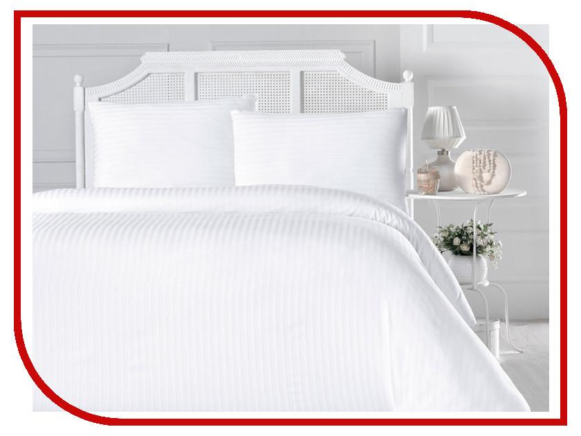 Постельное белье Arya Otel Комплект 1.5 спальный Сатин White F9728713 постельное белье arya filibe комплект 2 спальный сатин с вышивкой tr1003035