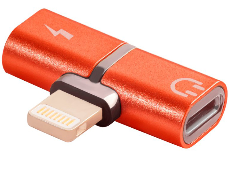 Аксессуар Greenconnect USB 2.0 Lightning 8pin - jack 3.5mm Red GCR-51149 аксессуар greenconnect кабель usb 2 0 lightning 8pin 1m для iphone 5 6 7 8 x yelow black gcr 51033