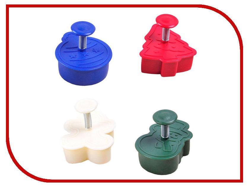 Набор форм для выпечки Bradex Новогодняя сказка TK 0219 набор антипригарных ковриков для гриля и духовки bradex tk 0194