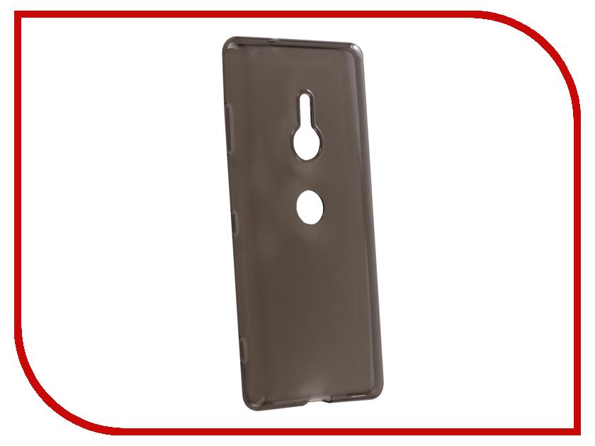 Аксессуар Чехол для Sony Xperia XZ3 BROSCO Silicone Black XZ3-TPU-BLACK аксессуар чехол sony xperia xzs brosco pu black xzs book iceblue