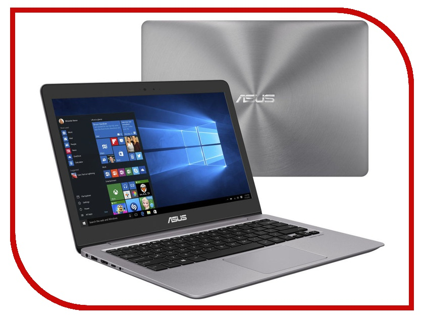 Ноутбук ASUS Zenbook UX310UA-FB1106T 90NB0CJ1-M18550 (Intel Core i3-7100U 2.4 GHz/4096Mb/500Gb/No ODD/Intel HD Graphics/Wi-Fi/Cam/13.3/3200x1800/Windows 10 64-bit) все цены