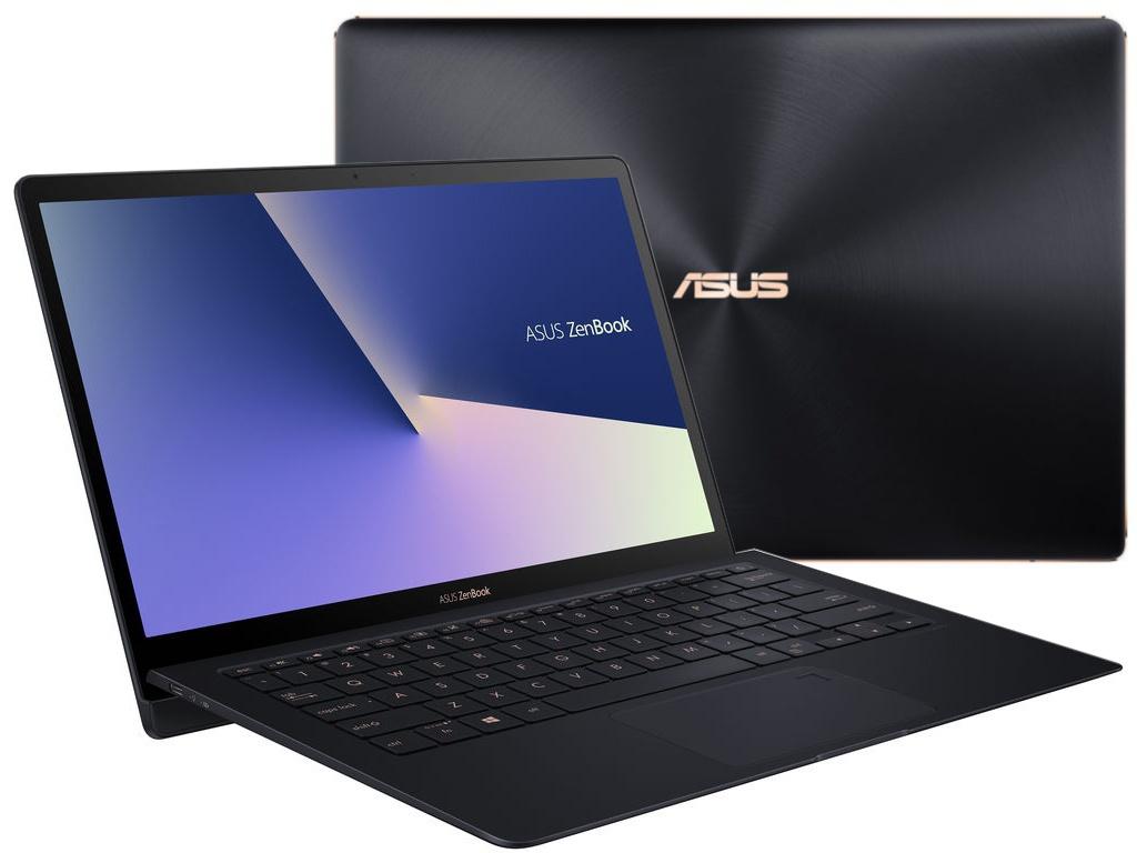 Ноутбук ASUS Zenbook S UX391UA-EG007R 90NB0D91-M02730 (Intel Core i7-8550U 1.8 GHz/16384Mb/512Gb SSD/No ODD/Intel HD Graphics/Wi-Fi/Bluetooth/Cam/13.3/1920x1080/Windows 10 64-bit)