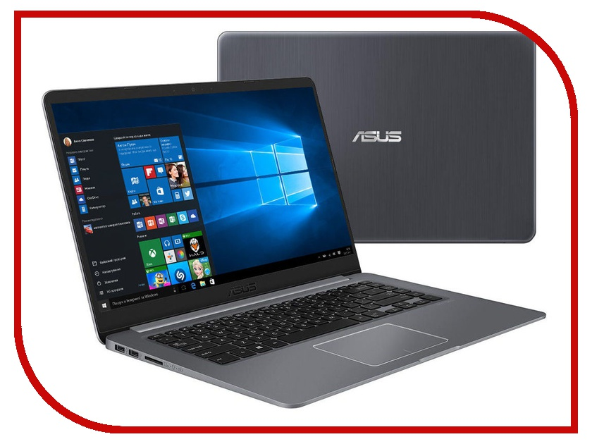 Ноутбук ASUS VivoBook S510UA-BQ1376R 90NB0FQ5-M21100 (Intel Core i7-8550U 1.8 GHz/16384Mb/1000Gb + 256Gb SSD/Intel HD Graphics/Wi-Fi/Bluetooth/Cam/15.6/1920x1080/Windows 10 64-bit) ноутбук asus ux410uf gv011t 90nb0hz3 m03870 intel core i7 8550u 1 8 ghz 16gb 1000gb 256gb ssd nvidia mx130 wi fi bluetooth cam 14 0 1920x1080 windows 10