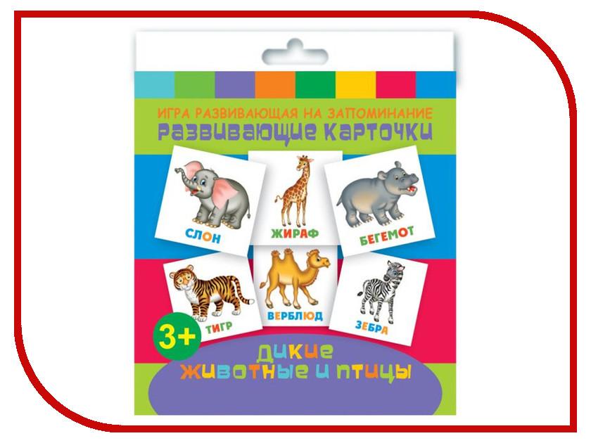 Обучающая книга Феникс+ Развивающие карточки Дикие животные 47686 trefl классические пазлы для малышей дикие животные 1 от 2 лет