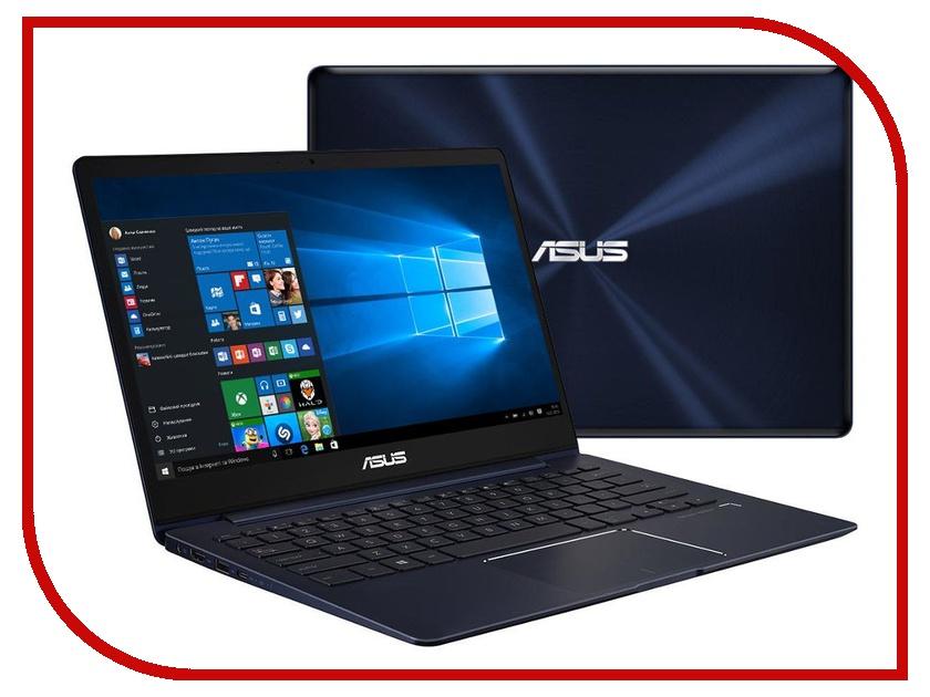 Ноутбук ASUS Zenbook UX331UN-EA056T 90NB0GY1-M04280 (Intel Core i7-8550U 1.8 GHz/16384Mb/512Gb SSD/No ODD/nVidia GeForce MX150 2048Mb/Wi-Fi/Bluetooth/Cam/13.3/3840x2160/Touchscreen/Windows 10 64-bit) цена
