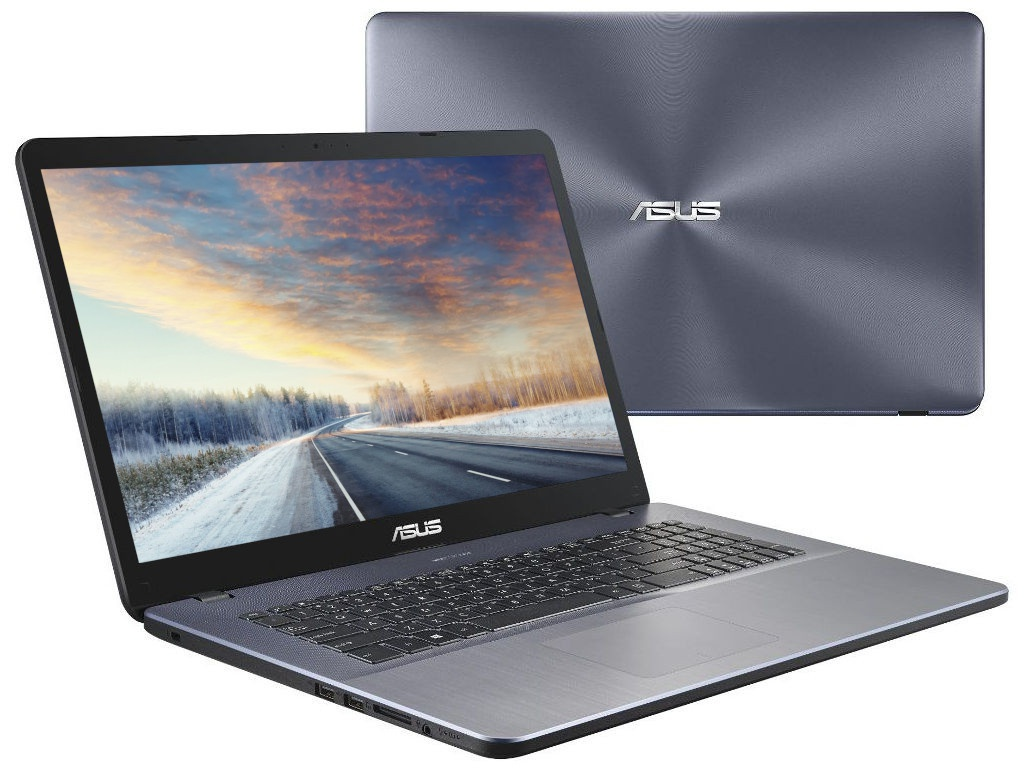 Ноутбук ASUS X705MA-BX014 90NB0IF2-M00710 (Intel Pentium N5000 1.1 GHz/4096Mb/1000Gb/No ODD/Intel HD Graphics/Wi-Fi/Bluetooth/Cam/17.3/1600x900/Linux)