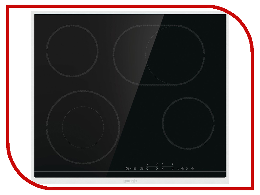 Варочная панель Gorenje ECT 643 BX genius first h3106 fashion silicone band quartz wrist watch silver grey