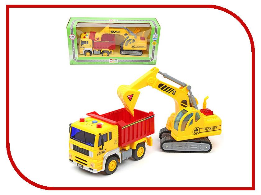 Игрушка Drift Спецтехника Construction Truck 70808 машина drift спецтехника бетономешалка 48228