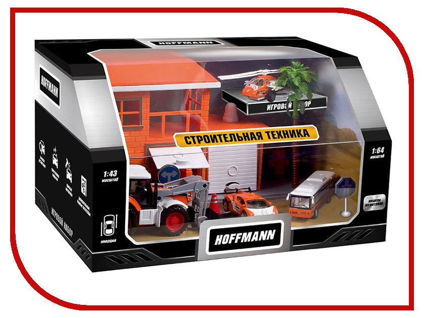 Игрушка Hoffmann Набор машин Строительная техника 72308 пакля строительная
