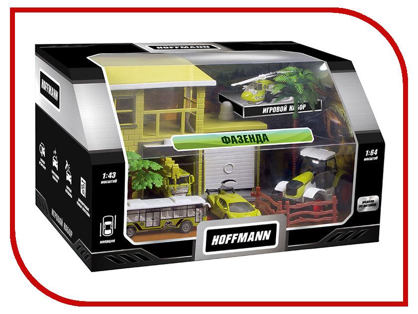 Игрушка Hoffmann Набор машин Фазенда 72309 игрушка hoffmann germany fury 65681