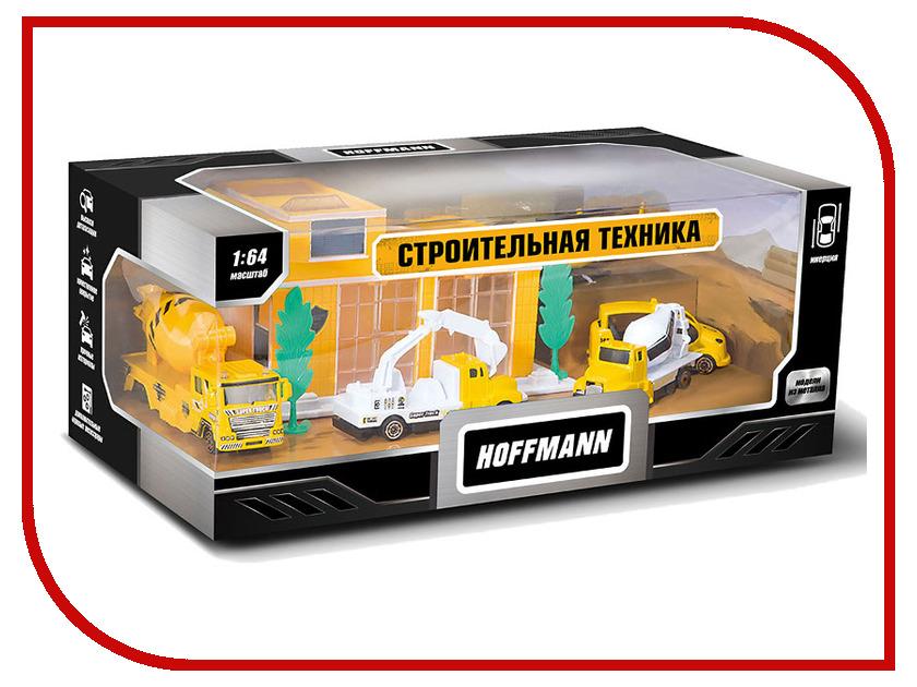 Игрушка Hoffmann Набор машин Строительная техника 72301 пакля строительная