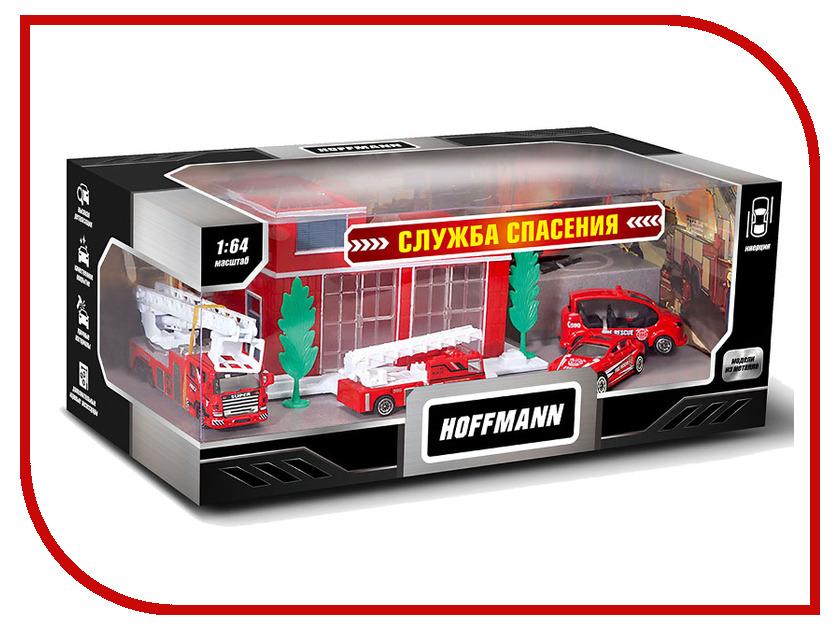 Игрушка Hoffmann Набор машин Служба спасения 72304 welly welly набор служба спасения пожарная команда 4 штуки