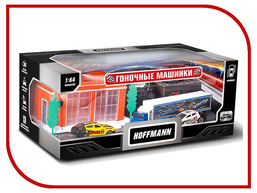 Игрушка Hoffmann Набор машин Гоночные машинки 72302 машинки siku набор пожарных машин