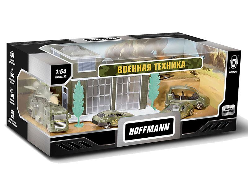 Игрушка Hoffmann Набор машин Военная техника 72298