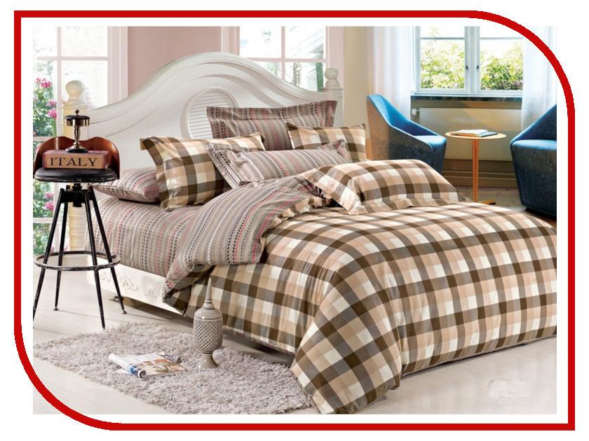 Постельное белье Cleo Satin Lux 15/301-SL Комплект 1.5 спальный Сатин все цены